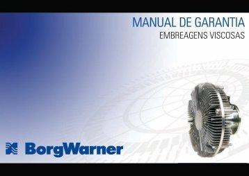Manual de Garantia Thermal WEB - BorgWarner Brasil