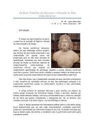 Os Doze Trabalhos de Hércules e a Evolução da ... - Entre Irmãos