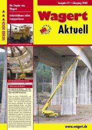 Wagert Aktuell Ausgabe 01/2008