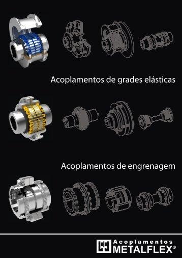 Linha M - Acoplamentos Metalflex