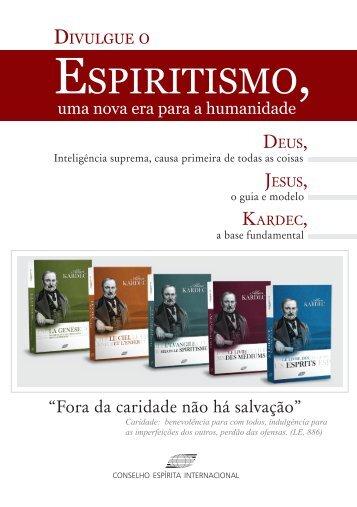 Divulgue o Espiritismo - FEB - União Espírita Paraense