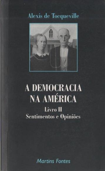 A DEMOCRACIA NA AMÉRICA