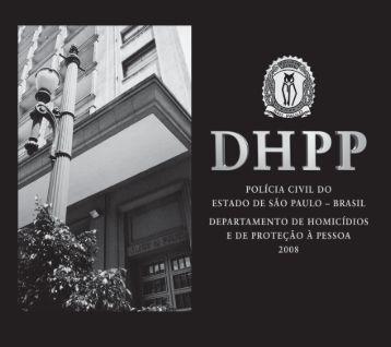 Anuário DHPP - Polícia Civil - Governo do Estado de São Paulo