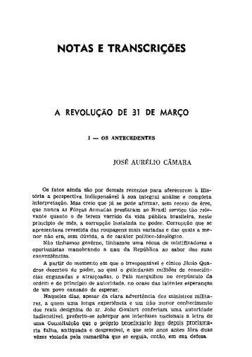 NOTAS E TRANscmçõEs - Portal da História do Ceará
