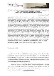 daniel luciano gevehr - XVIII Encontro Regional (ANPUH-MG)