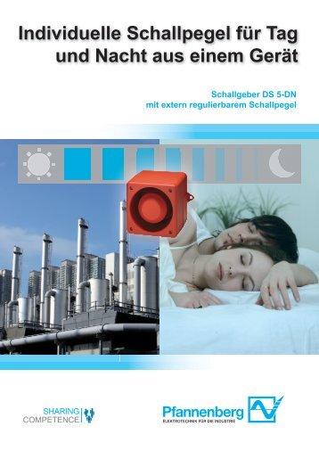 Schallgeber DS 5-DN - Wagner GmbH