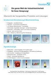 Die ganze Welt der Industriesicherheit für Ihren ... - Wagner GmbH