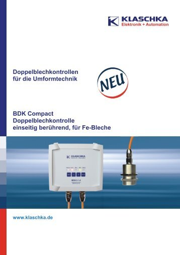 Doppelblechkontrolle Compact - Wagner GmbH