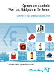 EX Warn und Notsignal - Wagner GmbH