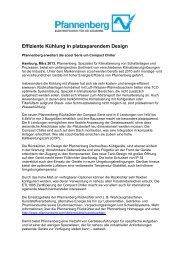 Pressemitteilung Compact Chiller - Pfannenberg