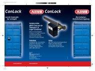 ConLock ConLock - Wagner Sicherheitstechnik GmbH