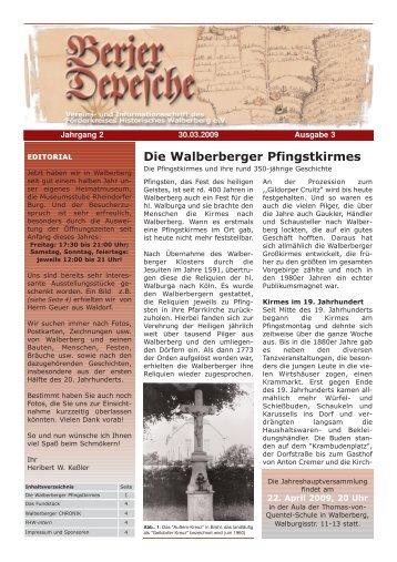 Berjer Depesche 3d_A1-A4 - Förderkreis Historisches Walberberg eV
