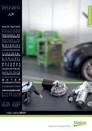 wiper motors moteurs d'essuie-glaces motores de ... - Valeo