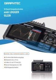 midi LOGGER GL220 - Ingenieurbüro Vogel Messtechnik