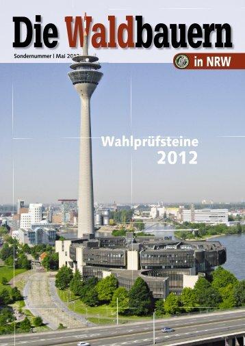 in NRW Wahlprüfsteine - Waldbauernverband Nordrhein-Westfalen ...