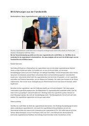 gehts zum Artikel aus dem Gäuboten - Waldhaus Jugendhilfe