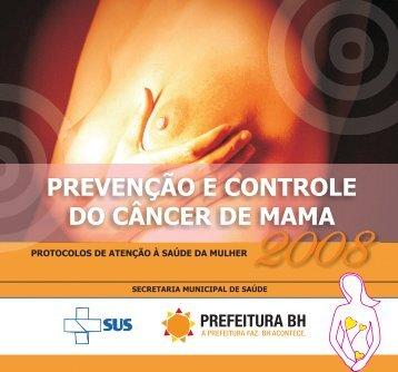 PREVENÇÃO E CONTROLE DO CÂNCER DE MAMA - Prefeitura ...