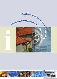 Infobroschüre zur Einführung einer getrennten Abwassergebühr