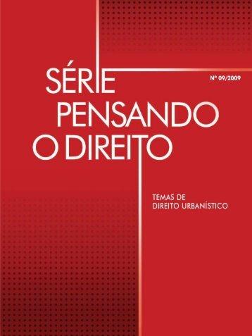Relatório Final - Pensando o Direito - Ministério da Justiça
