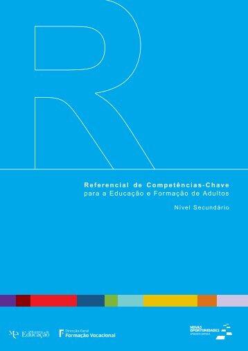 Referencial de Competências-Chave para a Educação e Formação