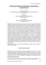 práticas de ensino exploratório da matemática - P3M - Universidade ...