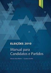 Manual para Candidatos e Partidos - Instituto Teotônio Vilela