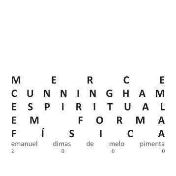 mercecunninghamespiri tualemformaf í sica - Emanuel Pimenta