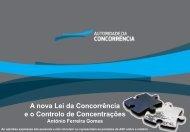 A nova Lei da Concorrência e o Controlo de Concentrações