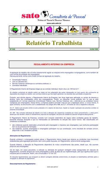 048 - Sato Consultoria de Pessoal