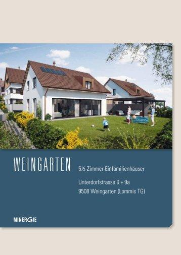 Einfamilienhaus, Weingarten (Hier anklicken, um die ... - Ed. Vetter AG