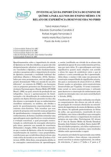 118-investigação da importância do ensino de química