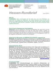 Hessen-Rundbrief Juni 2011