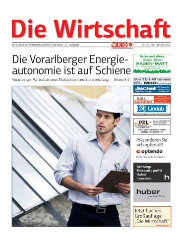 Die Wirtschaft Nr. 5 vom 3. Februar 2012