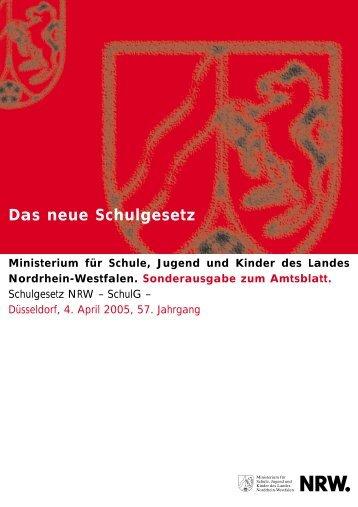 Das neue Schulgesetz - Freie Waldorfschule in Münster