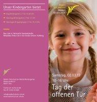 Tag der offenen Tür - Freie Waldorfschule Ulm Römerstraße