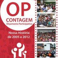 Acesse aqui a nova revista do OP Contagem - Prefeitura de Contagem
