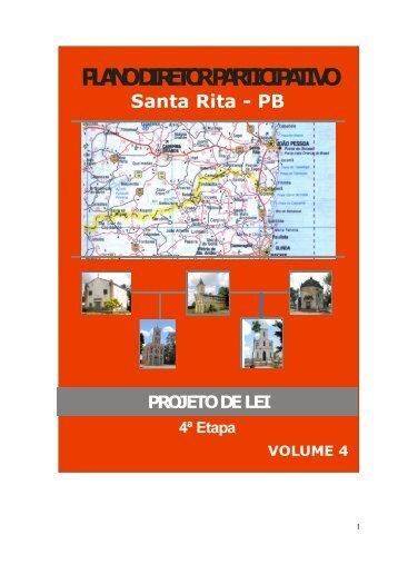 plano diretor participativo - Prefeitura da Cidade de Santa Rita