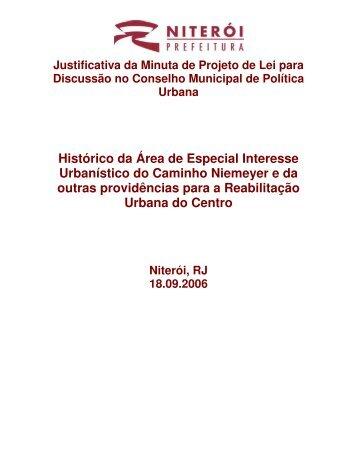 Histórico da Área de Especial Interesse Urbanístico do ... - cchla