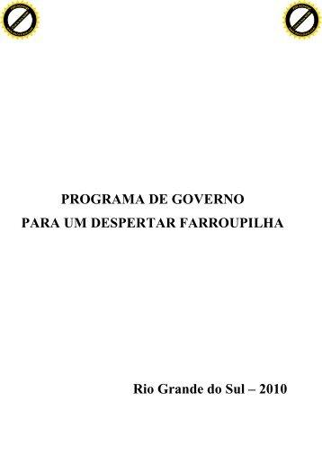 plano de governo - clicRBS