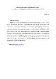 Democracia participativa e inclusão socio-política - Início - Prefeitura ...