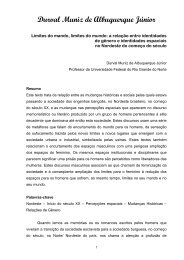 Durval Muniz de Albuquerque Júnior - cchla - Universidade Federal ...