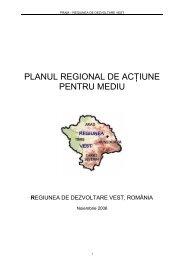 Planul Regional de Actiune pentru Mediu