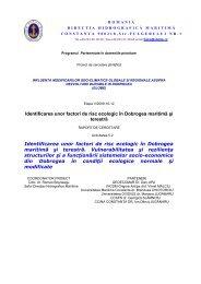 Identificarea unor factori de risc ecologic în Dobrogea ... - globe-cnmp