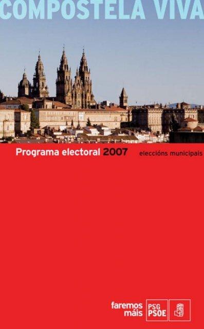 Programa electoral 2007 - Grupo municipal dos socialistas de ...