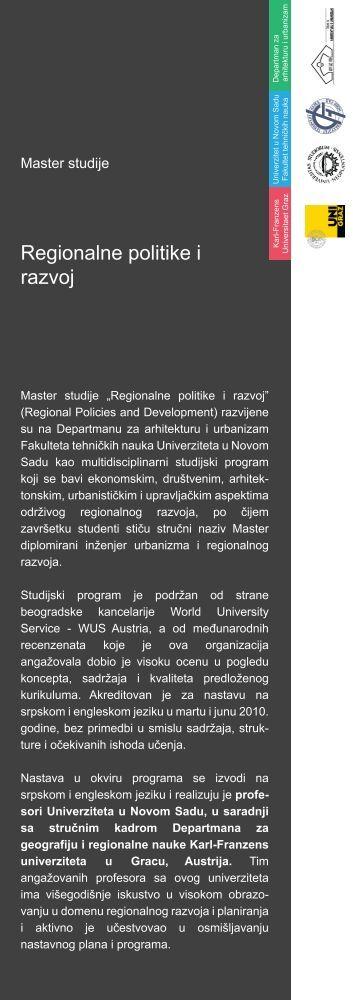 SARENA PRVA copy - Departman za arhitekturu i urbanizam