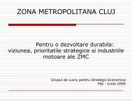 Planul Integrat de Dezvoltare pentru zona metropolitan Cluj-Napoca