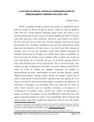 Página 136 A CULTURA DA BELEZA ... - Revista Historien