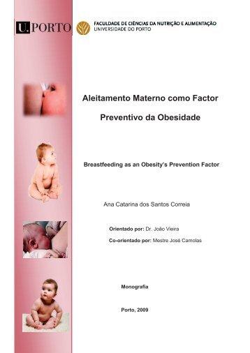 Aleitamento Materno como Factor Preventivo da Obesidade
