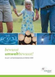 Umwelt- und Nachhaltigkeitsbericht der Stadt Walldorf