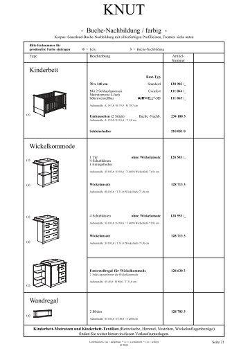kinderbett kommoden wandregal standregal niedrig wallenfels. Black Bedroom Furniture Sets. Home Design Ideas